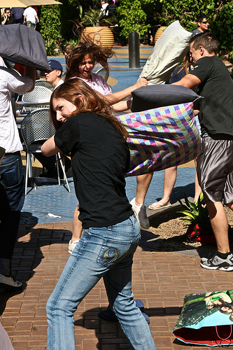 Tempe Pillow Fight