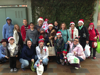 Gifts for Strangers handed out some holiday cheer!