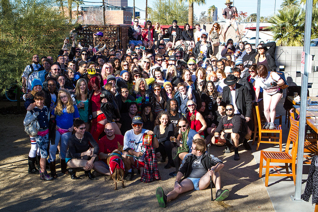 No Pants Light Rail 2013 group shot courtesy of noocar